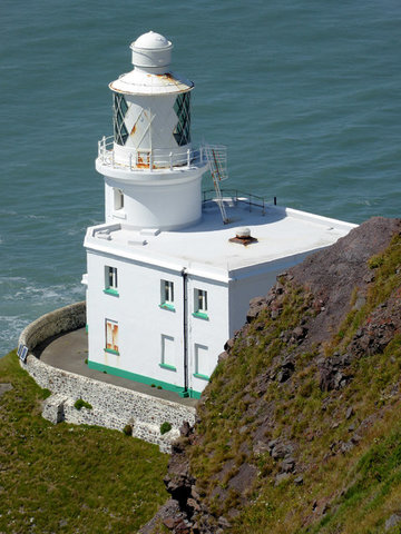 Hartland Point Lighthouse Tower & Keeper's Cottage, By Roger Kidd