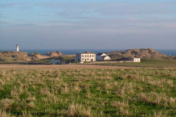 Rattray Head Lighthouse Compound & Tower In The Distance2