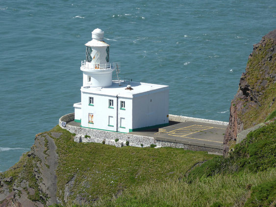 Hartland Point Lighthouse Tower & Keeper's Cottage, By Roger Kidd MAIN