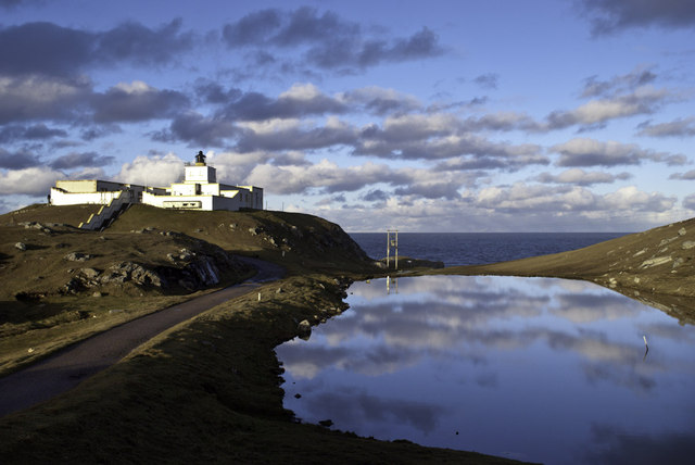 Strathy Point Lighthouse Peter Moore