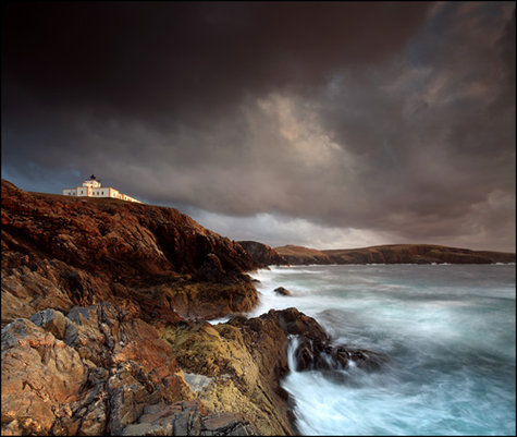 Strathy Point Lighthouse Photo By Angus Clyne