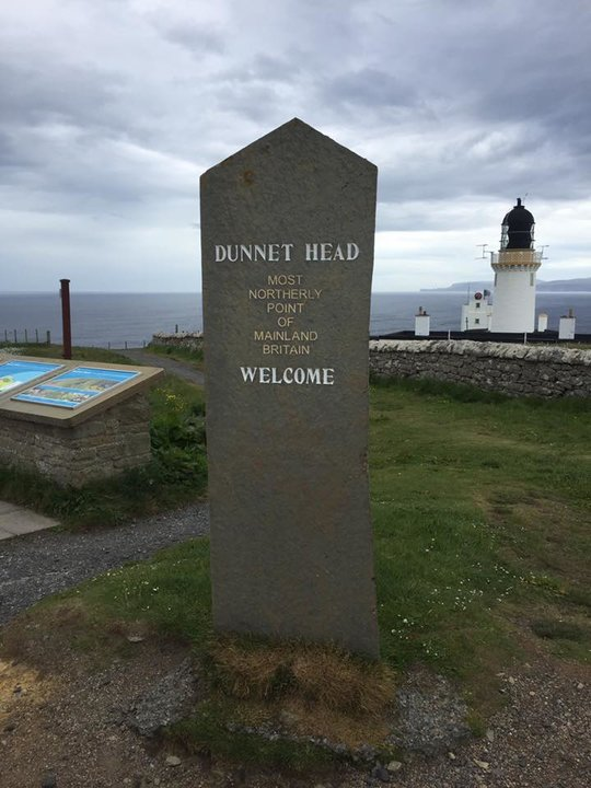 A Dunnet Head Lighthouse - Photo By David Rutherford