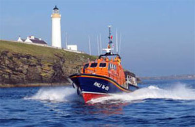 Cantick Head and RNLI