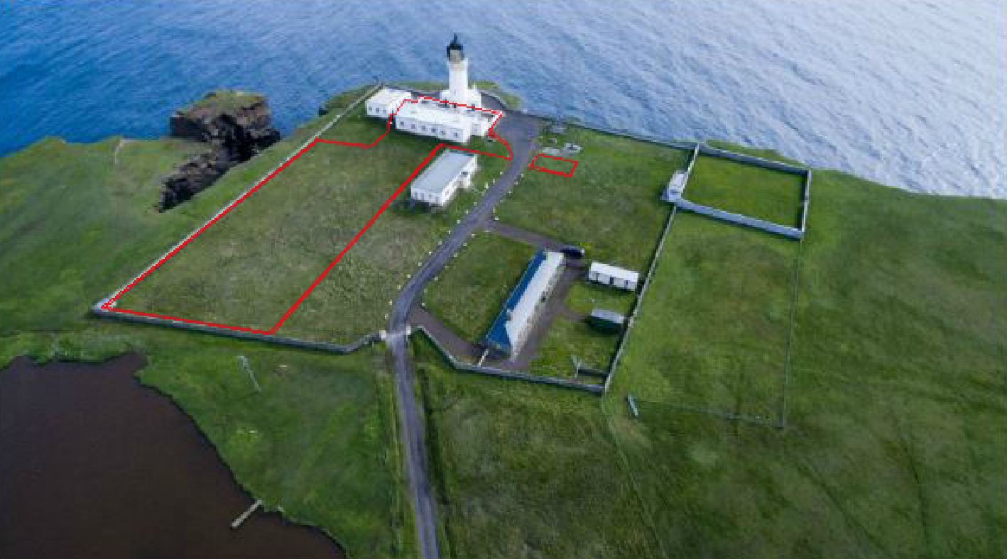 Tower house under offer noss head lighthouse station for Tower house for sale