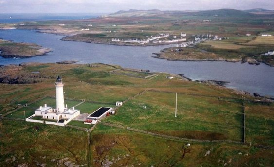 Rinns of Islay Lighthouse Buildings Photo By Ron Ireland