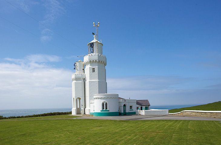 St Catherine's Lighthouse, Niton, Ventnor, Isle of Wight  1