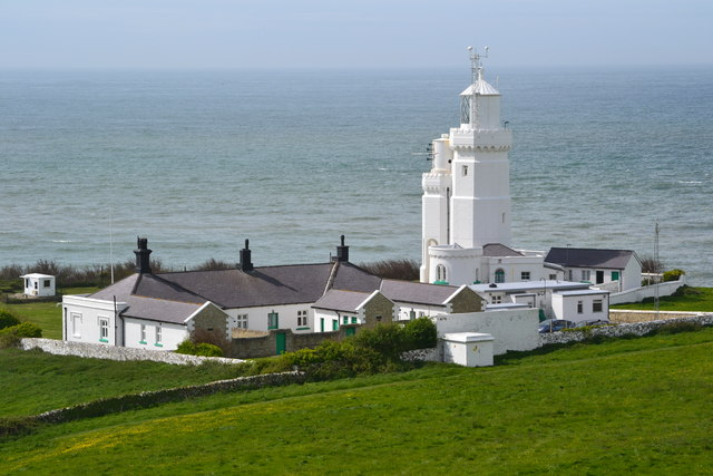 St Catherine's Lighthouse, Niton, Ventnor, Isle of Wight David Martin