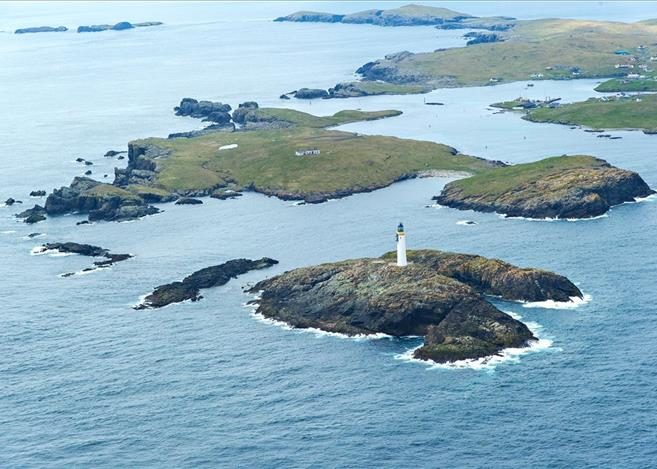 Isle of Grunay, Out Skerries, Shetland Lighthouse Buildings For Sale 5