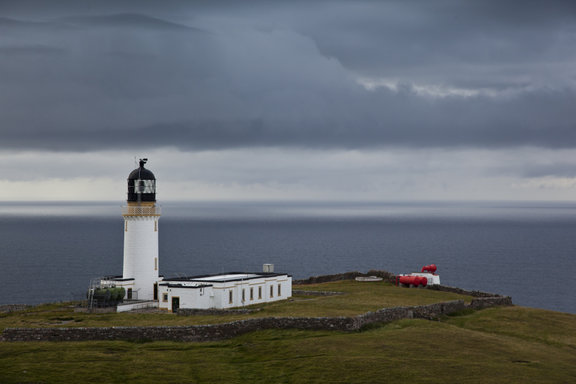 Cape Wrath Lighthouse Buildings  -1- James and Anita Copestake