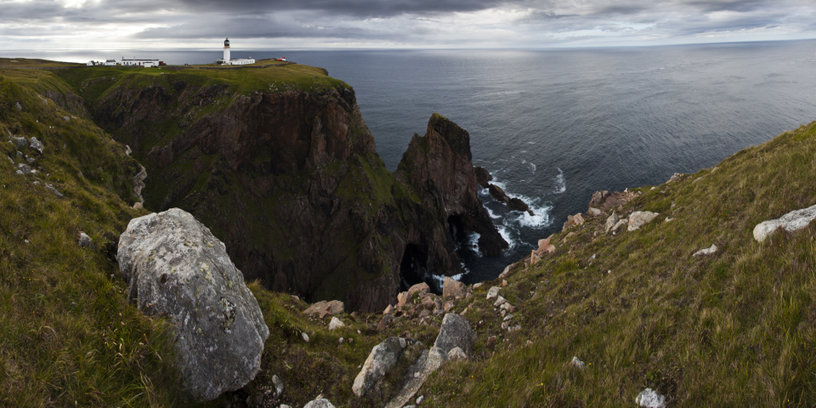 Cape Wrath Lighthouse Buildings  -2- James and Anita Copestake