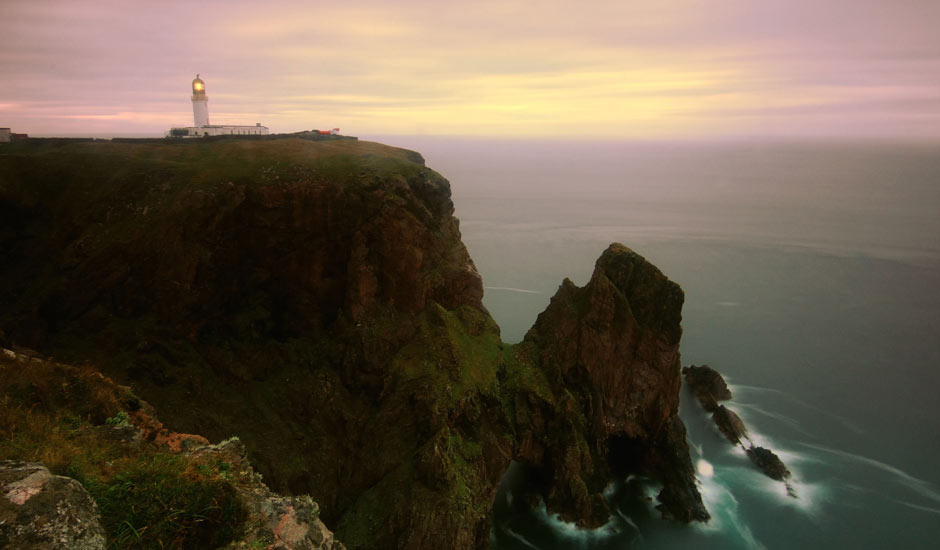 Cape Wrath Lighthouse Buildings - Mike Carter