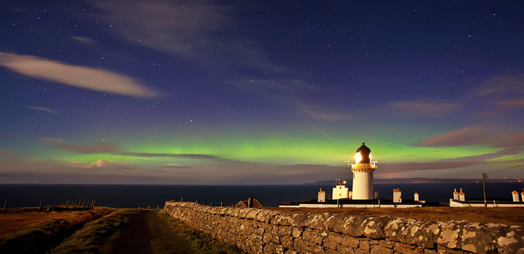 Dunnet Head Lighthouse Compound Stewart Watt