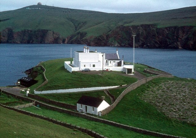 Flat 4, Muckle Flugga Shore Station, Burrafirth, Unst, ZE2 9EQ By Alan Reid