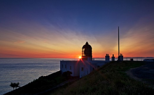 Mull of Kintyre Lighthouse at Dusk