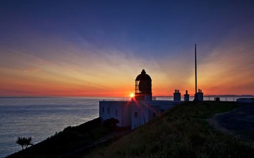 Mull of Kintyre Lighthouse at Dusk
