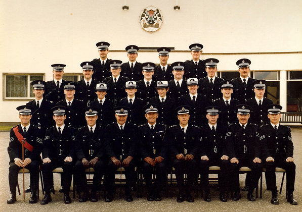 Scottish Police College Class Photo